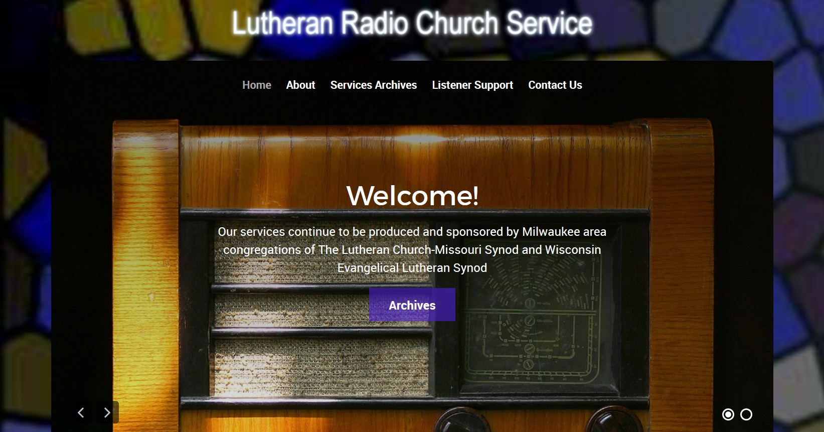 Lutheran Radio Church Service