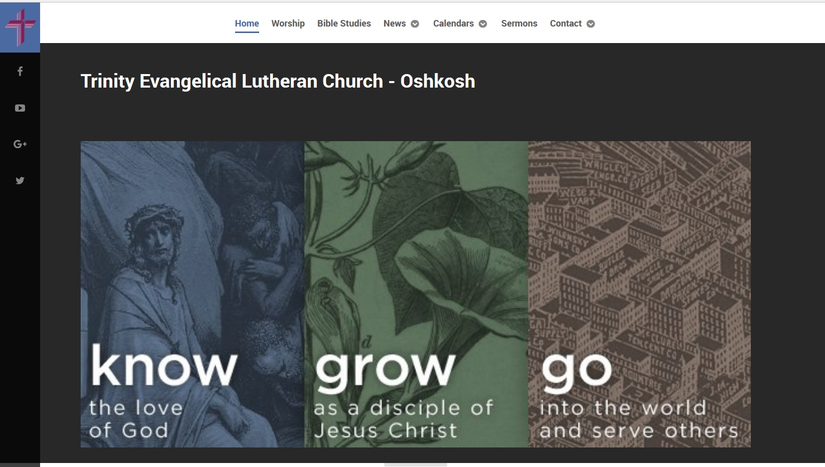Trinity Lutheran Oshkosh new website